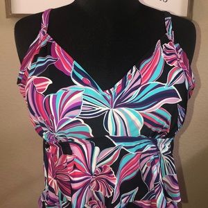 St. John's Bay Swim Top- Size 14